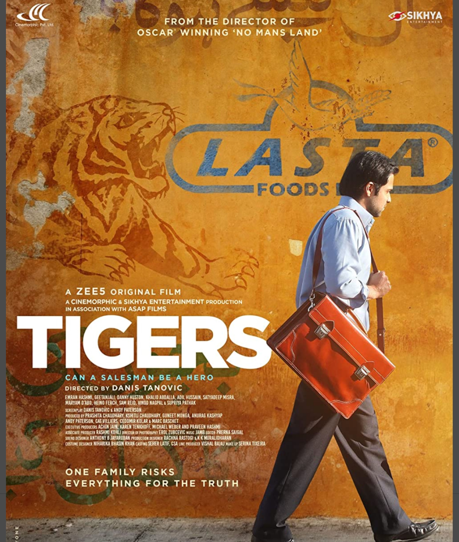 Tigers. Based on the true story of a former Nestlé baby milk salesman