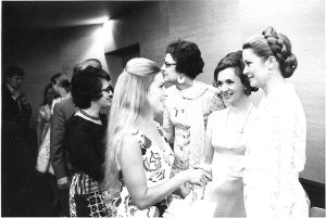 Princess Grace of Monaco meeting Leaders at the LLL Conference in Chicago, 1971